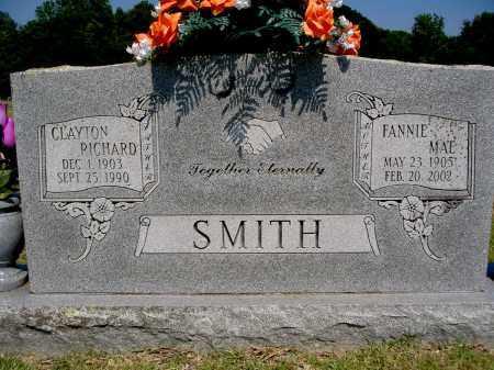 SMITH, FANNIE MAE - Yell County, Arkansas | FANNIE MAE SMITH - Arkansas Gravestone Photos