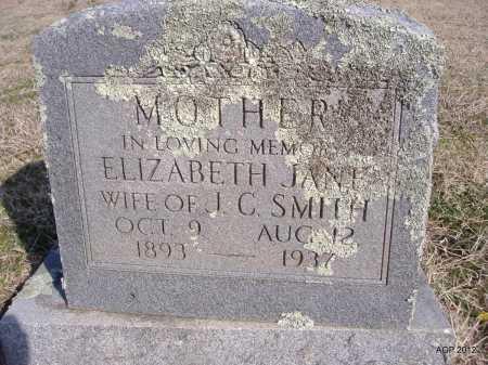 SMITH, ELIZABETH JANE - Yell County, Arkansas | ELIZABETH JANE SMITH - Arkansas Gravestone Photos