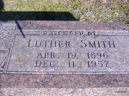 SMITH, LUTHER - Yell County, Arkansas | LUTHER SMITH - Arkansas Gravestone Photos