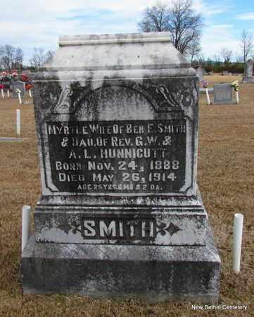 SMITH, MYRTLE - Yell County, Arkansas | MYRTLE SMITH - Arkansas Gravestone Photos