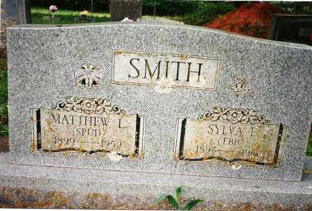 "SMITH, SYLVA E ""EBB"" - Yell County, Arkansas 