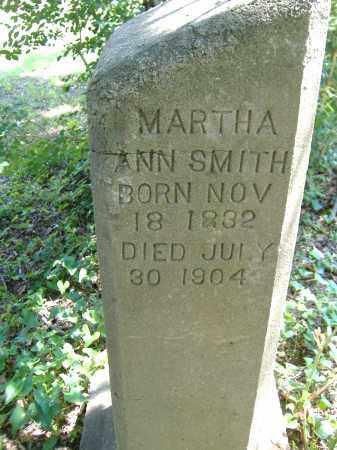 SMITH, MARTHA ANN - Yell County, Arkansas | MARTHA ANN SMITH - Arkansas Gravestone Photos