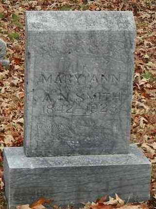 MCBRIDE SMITH, MARY ANN - Yell County, Arkansas | MARY ANN MCBRIDE SMITH - Arkansas Gravestone Photos