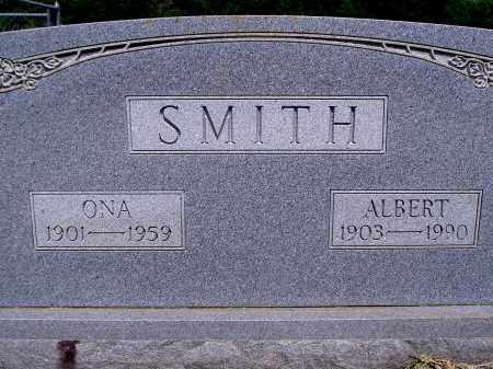 SMITH, ALBERT - Yell County, Arkansas | ALBERT SMITH - Arkansas Gravestone Photos