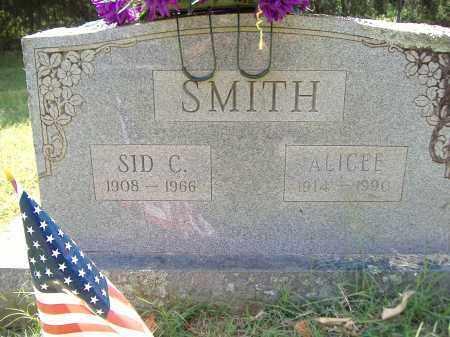SMITH, SID C - Yell County, Arkansas | SID C SMITH - Arkansas Gravestone Photos