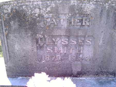 SMITH, ULYSSES - Yell County, Arkansas | ULYSSES SMITH - Arkansas Gravestone Photos
