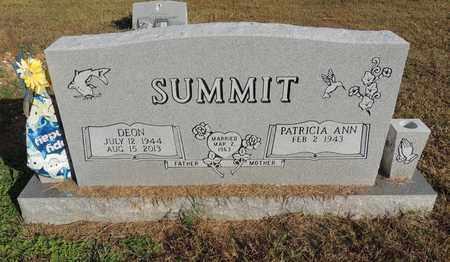 SUMMIT, DEON - Yell County, Arkansas | DEON SUMMIT - Arkansas Gravestone Photos