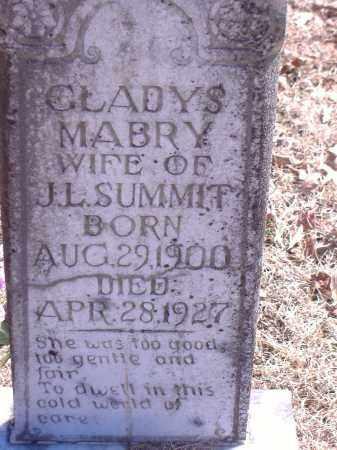 SUMMIT, GLADYS - Yell County, Arkansas | GLADYS SUMMIT - Arkansas Gravestone Photos