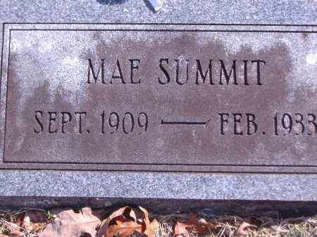 THOMPSON SUMMIT, MAE - Yell County, Arkansas | MAE THOMPSON SUMMIT - Arkansas Gravestone Photos