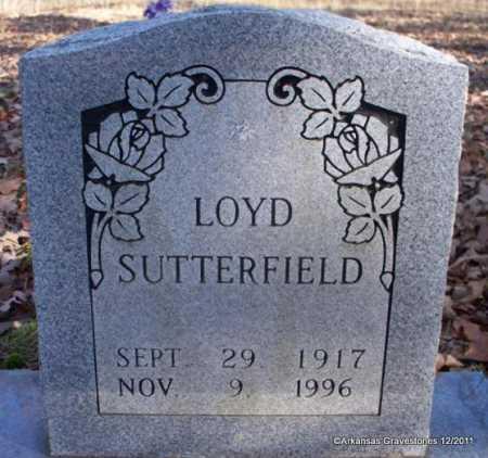 SUTTERFIELD, LOYD - Yell County, Arkansas | LOYD SUTTERFIELD - Arkansas Gravestone Photos