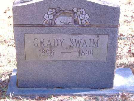 SWAIM, GRADY - Yell County, Arkansas | GRADY SWAIM - Arkansas Gravestone Photos