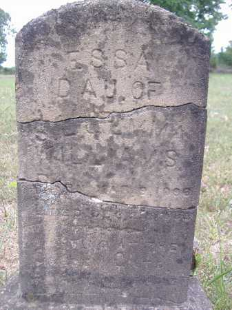 WALLIAMS, ESSA - Yell County, Arkansas | ESSA WALLIAMS - Arkansas Gravestone Photos