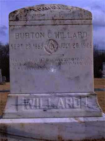 WILLARD, BURTON CULLON - Yell County, Arkansas | BURTON CULLON WILLARD - Arkansas Gravestone Photos