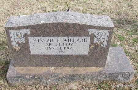 WILLARD, JOSEPH E - Yell County, Arkansas | JOSEPH E WILLARD - Arkansas Gravestone Photos