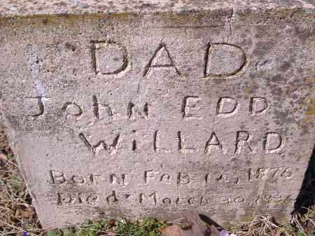 WILLARD, JOHN EDD - Yell County, Arkansas | JOHN EDD WILLARD - Arkansas Gravestone Photos