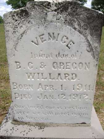 WILLARD, VENICE - Yell County, Arkansas | VENICE WILLARD - Arkansas Gravestone Photos