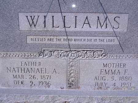 WILLIAMS, NATHANAEL A - Yell County, Arkansas | NATHANAEL A WILLIAMS - Arkansas Gravestone Photos