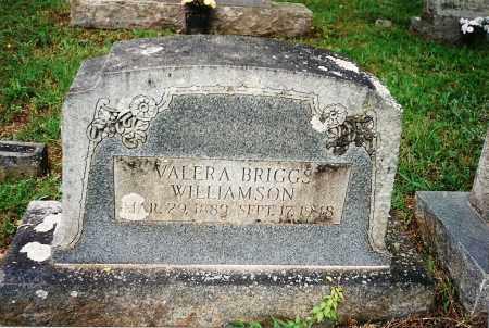 WILLIAMSON, VALERA - Yell County, Arkansas | VALERA WILLIAMSON - Arkansas Gravestone Photos