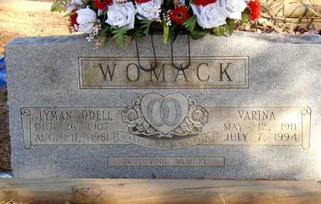 WOMACK, VARINA - Yell County, Arkansas   VARINA WOMACK - Arkansas Gravestone Photos