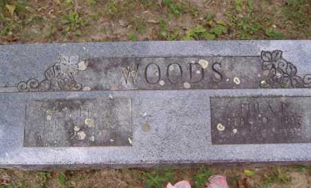 WOODS, EULA P - Yell County, Arkansas | EULA P WOODS - Arkansas Gravestone Photos