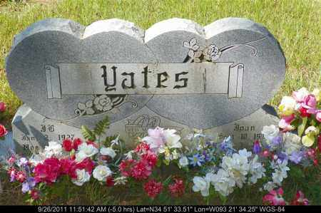 YATES, JOAN - Yell County, Arkansas | JOAN YATES - Arkansas Gravestone Photos