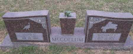 MCCOLLUM, LLOYD C - Arkansas County, Arkansas | LLOYD C MCCOLLUM - Arkansas Gravestone Photos