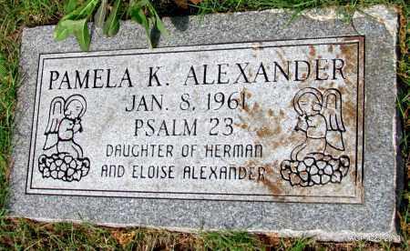 ALEXANDER, PAMELA K - Arkansas County, Arkansas | PAMELA K ALEXANDER - Arkansas Gravestone Photos