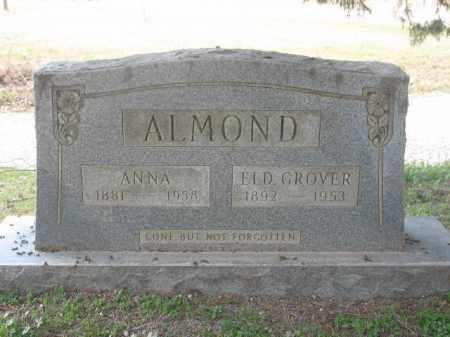 ALMOND, ELD, JAMES GROVER - Arkansas County, Arkansas   JAMES GROVER ALMOND, ELD - Arkansas Gravestone Photos