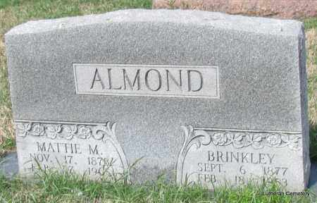 ALMOND, MATTIE M - Arkansas County, Arkansas | MATTIE M ALMOND - Arkansas Gravestone Photos