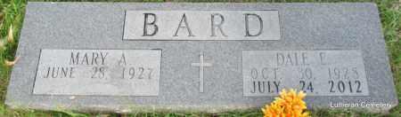 BARD, DALE E - Arkansas County, Arkansas | DALE E BARD - Arkansas Gravestone Photos