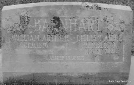 BARNHART, WILLIAM ARTHUR - Arkansas County, Arkansas | WILLIAM ARTHUR BARNHART - Arkansas Gravestone Photos