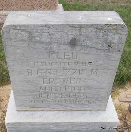 BREWER, CLEO - Arkansas County, Arkansas | CLEO BREWER - Arkansas Gravestone Photos