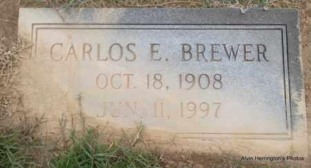 BREWER, CARLOS E - Arkansas County, Arkansas | CARLOS E BREWER - Arkansas Gravestone Photos