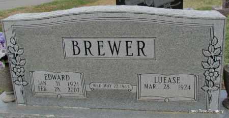 BREWER, EDWARD - Arkansas County, Arkansas | EDWARD BREWER - Arkansas Gravestone Photos