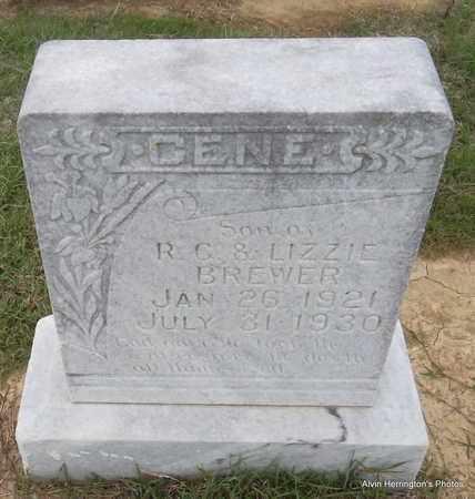 BREWER, GENE - Arkansas County, Arkansas | GENE BREWER - Arkansas Gravestone Photos