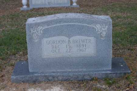 BREWER, GORDON B - Arkansas County, Arkansas | GORDON B BREWER - Arkansas Gravestone Photos