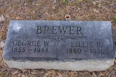 BREWER, LILLIE B - Arkansas County, Arkansas | LILLIE B BREWER - Arkansas Gravestone Photos