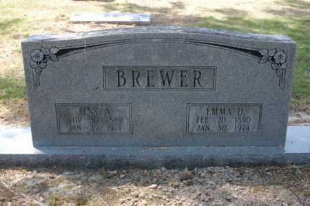BREWER, JESS A - Arkansas County, Arkansas | JESS A BREWER - Arkansas Gravestone Photos