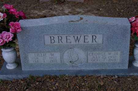 BREWER, LILLIE M - Arkansas County, Arkansas   LILLIE M BREWER - Arkansas Gravestone Photos