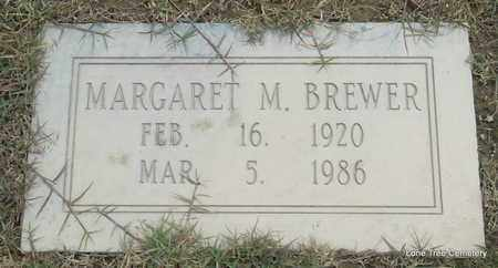 BREWER, MARGARET M - Arkansas County, Arkansas | MARGARET M BREWER - Arkansas Gravestone Photos