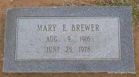 BREWER, MARY E - Arkansas County, Arkansas | MARY E BREWER - Arkansas Gravestone Photos