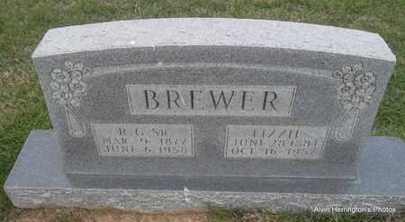BREWER, LIZZIE - Arkansas County, Arkansas   LIZZIE BREWER - Arkansas Gravestone Photos