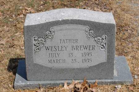 BREWER, WESLEY - Arkansas County, Arkansas | WESLEY BREWER - Arkansas Gravestone Photos