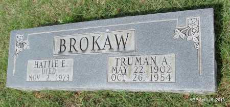 BROKAW, HATTIE E - Arkansas County, Arkansas | HATTIE E BROKAW - Arkansas Gravestone Photos