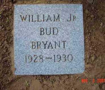 "BRYANT, JR, WILLIAM JEFFERSON ""BUD"" - Arkansas County, Arkansas | WILLIAM JEFFERSON ""BUD"" BRYANT, JR - Arkansas Gravestone Photos"