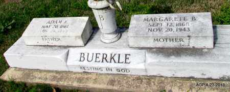 BUERKLE, ADAM F - Arkansas County, Arkansas   ADAM F BUERKLE - Arkansas Gravestone Photos