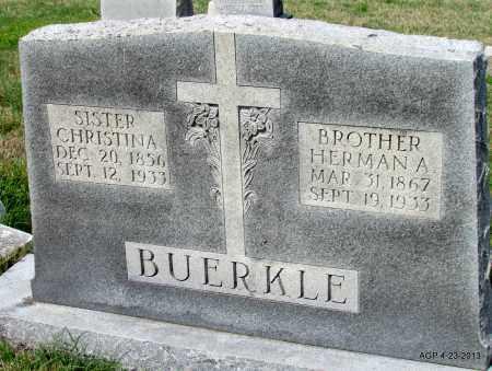BUERKLE, HERMAN A - Arkansas County, Arkansas | HERMAN A BUERKLE - Arkansas Gravestone Photos