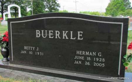 BUERKLE, HERMAN G - Arkansas County, Arkansas | HERMAN G BUERKLE - Arkansas Gravestone Photos
