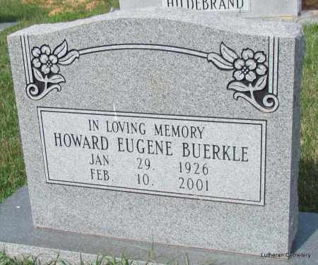 BUERKLE (VETERAN WWII), HOWARD EUGENE - Arkansas County, Arkansas   HOWARD EUGENE BUERKLE (VETERAN WWII) - Arkansas Gravestone Photos