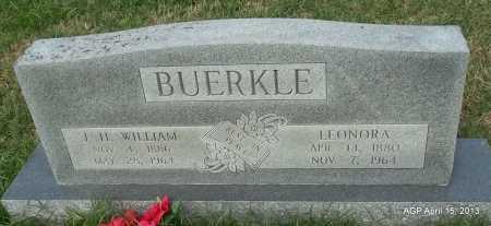 BUERK;E, LEONORA - Arkansas County, Arkansas | LEONORA BUERK;E - Arkansas Gravestone Photos